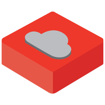 Hosting in the critical applications cloud icon