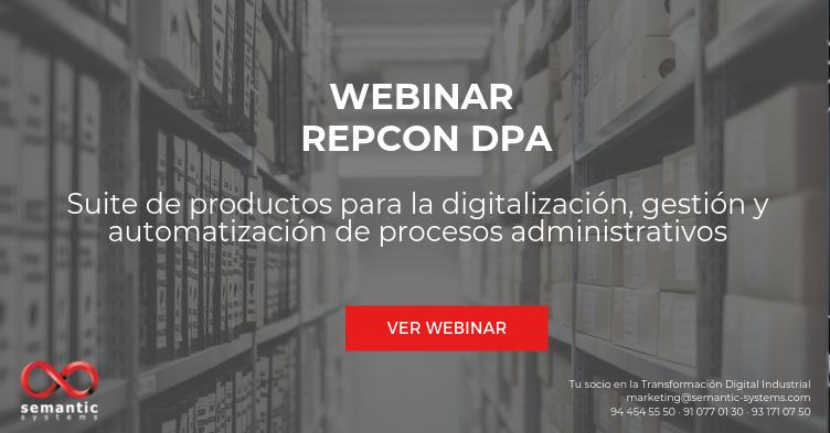 webinar repcon DPA
