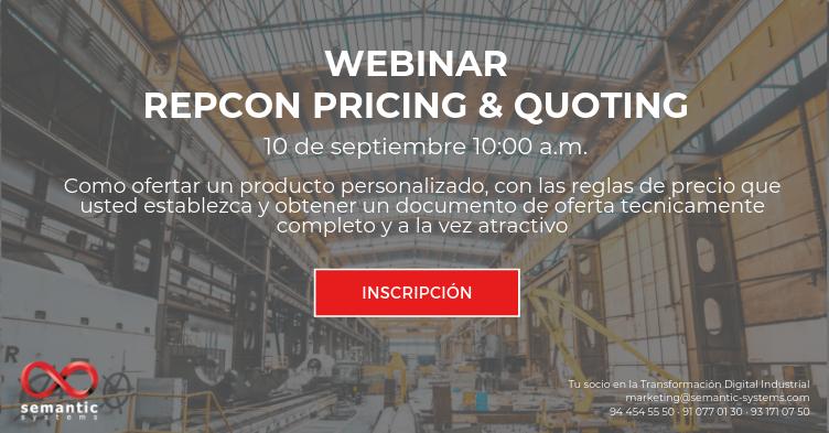 Webinar repcon Pricing&Quoting
