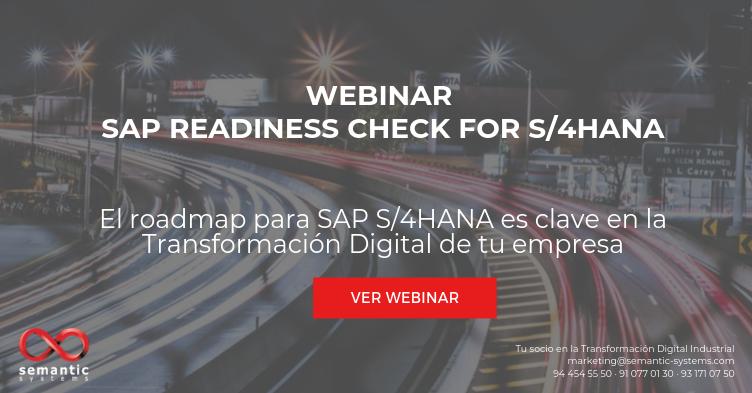Webinar SAP Readiness Check for S_4HANA