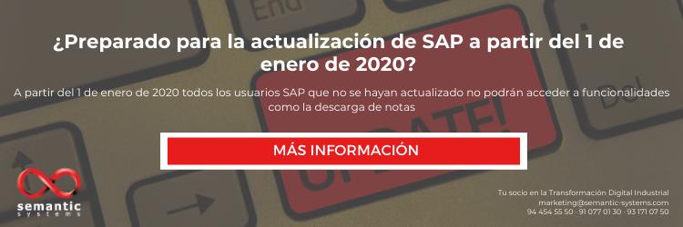SAP Backbone Update