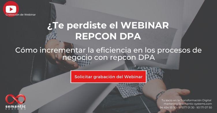 Webinar repcon DPA - Semantic Systems
