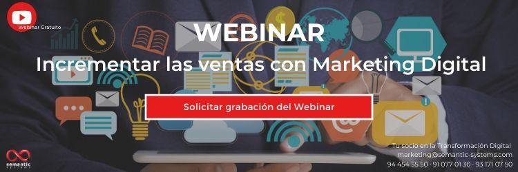 Webinar Marketing Digital - Semantic Systems